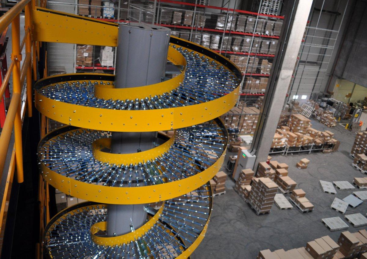 устройстве спирального конвейера